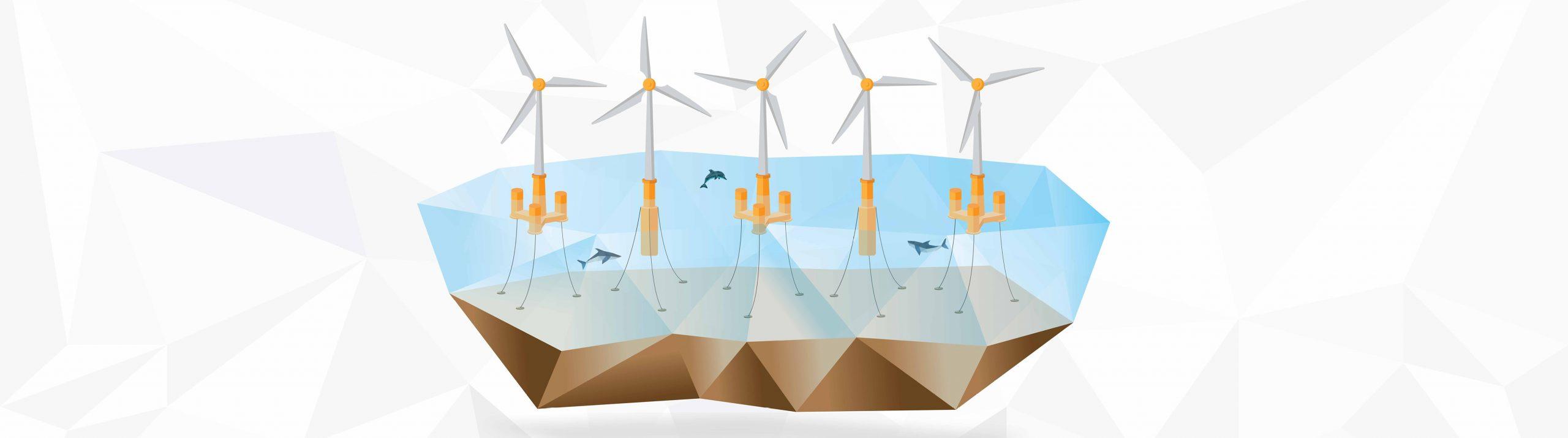 COREWIND: Mejorar el rendimiento de la tecnología eólica flotante en alta mar